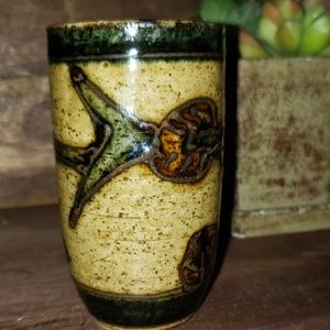 "Kitchen - ""5/$25"" Hand Crafted Pottery Shot Glass"